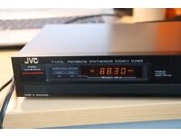JVC Synthesizer Stereo Tuner T-GX2L - Very good working condition