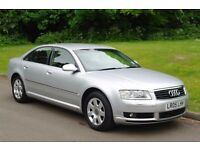 2005 Audi A8 TDi Quattro 3.0 Diesel.. Tiptronic Automatic.. FSH.. Well Looked After.. Bargain ..