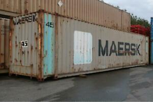 45ft Damaged High-Cube Shipping Container