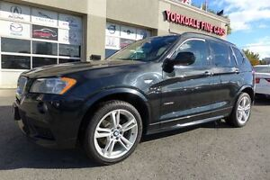 2013 BMW X3 35i M Sport. Navi. Pano Roof. No Accident