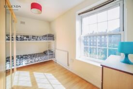 SPACIOUS MODERN TWIN ROOM IN ZONE1* CENTER LONDON* ELEPHANT CASTLE