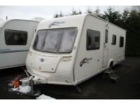 Bailey Pageant Burgandy Series 6 2008 4 Berth Fixed Bed Caravan + Motor Movers