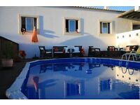 Beautiful Holiday Villa in TUNES - Central Algarve Portugal. 4 bedroom, 2 bathroom sleeps 11.