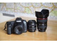 CANON 5D MK11 WITH LENS