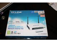 TP-LINK TD-W300 300Mbps ADSL Modem Router