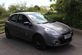 FROM £20 PER WEEK 2010 RENAULT CLIO EXTREME 3 DR HATCHBACK 1.2 PETROL MANUAL GREY GREAT ECONOMY