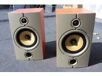 wharfedale diamond 8.2 speakers + wires