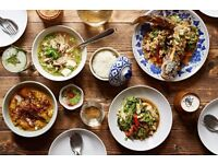 Unique restaurant seeks curious chefs. £24k - £27k or great hourly rates.