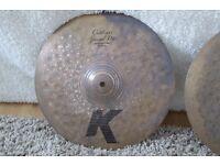 "Zildjian K Custom Special Dry 14"" Hi Hats"