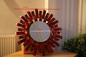 Sunburst wall mirror - Price reduction