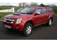 2010 Isuzu Rodeo Denver Manual 4x4 Crew Cab Pickup