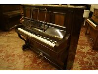 Overstrung antique Kaps upright piano in lovely condition. Tuned & UK delivery available