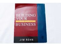BUILDING YOUR NETWORK MARKETING BUSINESS — AUDIOBOOK by JIM ROHN - AUDIO BOOK