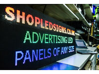 LED SIGN ADVERTISING PANEL FOR SHOP ADVERTISING VIDEO PANEL SHOP FOR SALE LED BILBOARD SCROLLING TXT