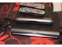 SKY PLUS HD WIFI BUILTIN BOX/MULTI ROOM HD BOX/2 REMOTE/HDMI CABLE
