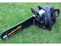 Chainsaw Package For Sale ! - McCulloch CS400t + Protective Clothing and Fuel