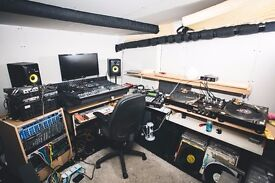 Monthly hire rehearsal / music production spaces for hire from £200 pcm