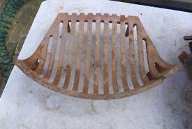 Architectural Salvage: Vintage / Antique Cast-Iron Fire Grate.