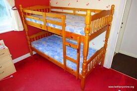 Bunk Bed with mattresses very good condition