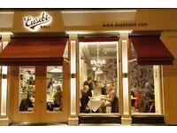 Experienced Barista/Bartender - Eusebi's