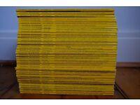 36 National Geographic magazines