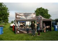 Staff required for street food units at festivals, shows & corporate events