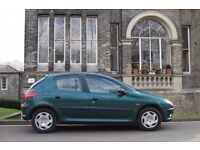 2002 Peugeot 206 Diesel 1.4 (30 Year Tax) 5Doors With Long MOT PX Welcome