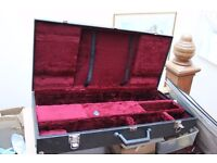 Rigid instrument case for unknown (?Brass / woodwind) instrument ?? oboe 82*37*14cm