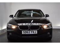 BMW 3 SERIES 2.0 320D EFFICIENTDYNAMICS 4d 161 BHP (black) 2012