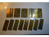 Door hinges and screws