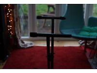Hercules EZ-LOK X Keyboard Stand Black Steel Tubing