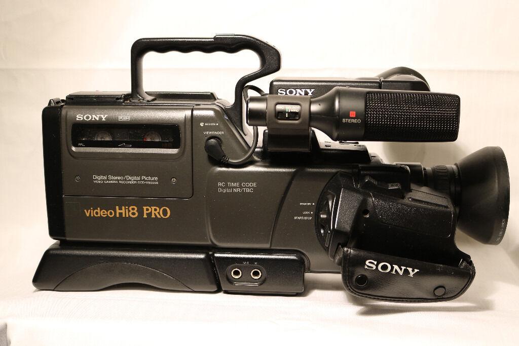 Sony Ccd V6000e Hi 8 Pro Video Camera Recorder And