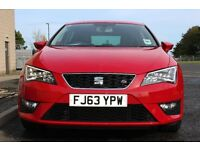 2013 Seat Leon 2.0 TDI FR (Tech Pack) Five door 5dr- Upgraded 18 Inch Alloy Wheels, 1 Previous Owner