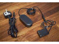 Third Party AC Adapter AC-E6 + DR-E6 Coupler for Canon