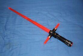 Kylo ren electronic blade builders lightsaber