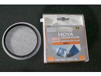Genuine NEW Hoya HMC 72mm UV(C) Slim Frame. NEVER USED