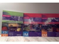 OCR MEI Mechanic1 Mechanics 2 and c1/c2 pure maths textbooks, £10 for all or £5 separate