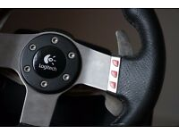 Logitech G27 Racing Wheel + Wheel Stand Pro