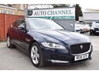 Jaguar XF 2.0 TD Portfolio 4dr (start/stop)£18,995 p/x welcome FINANCE AVAI+TOP SPEC+180 PS