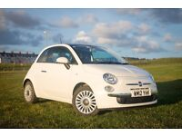 2012 Fiat 500 1.2l 3dr very good condition MOT May 2018, 30700 miles £4650