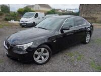 2005 BMW 530D 3.0 DIESEL AUTOMATIC, TOWBAR, 1 OWNER FROM NEW, FULL SERVICE HISTORY, E60