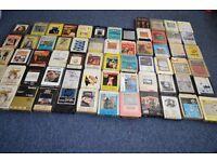 audio cassette - large bundle . 64 pcs