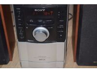 SONY CD RADIO CASSETTE AUX IN PLAYER