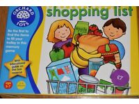 Orchard toys : shopping list.
