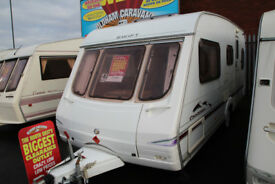 Swift Charisma 540/4 2003 4 Berth Caravan £3885
