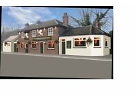Full/Part Time Pub Staff Required - Outgoing, Personable Only - Full Training Given