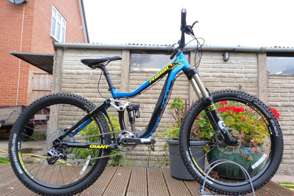 08da3e17c81 2014 Giant Reign X0 Downhill Enduro Mountain Bike 15