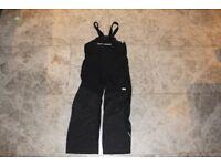 Child's salopettes, Helly Hansen ski wear