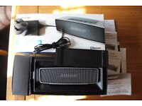Bose Soundlink Mini Rechargeable Bluetooth Speaker -in box with PSU+Charger+toughcase - Cost £160.00