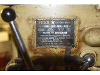 """Table mounted Fobco Star 1/2"""" Cap Drill. Pillar Drill in working order. Bristol"""